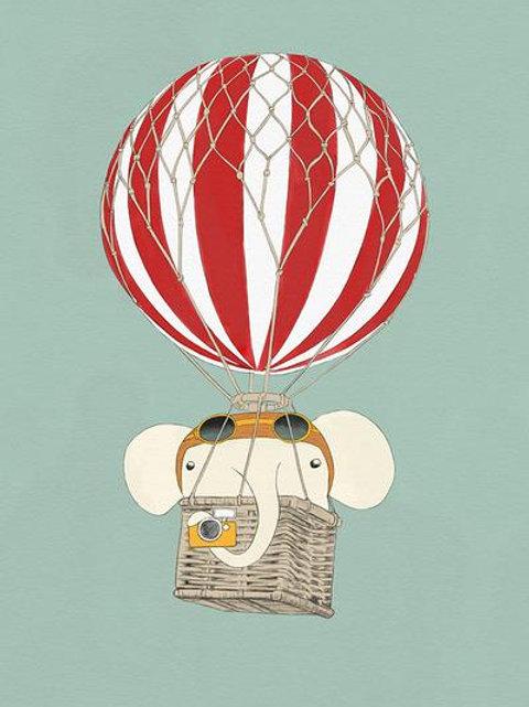 Ilustração The Ballon