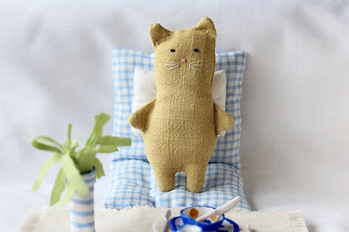 Sweet Yellow Cat