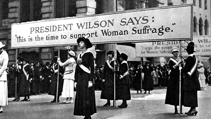 NAWSA and the League of Women Voters
