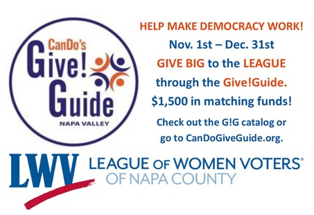 LWV Napa and the Give!Guide