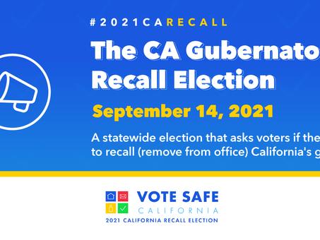 Special Election September 14, 2021