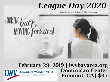 Bay Area League Day - February 29, 2020
