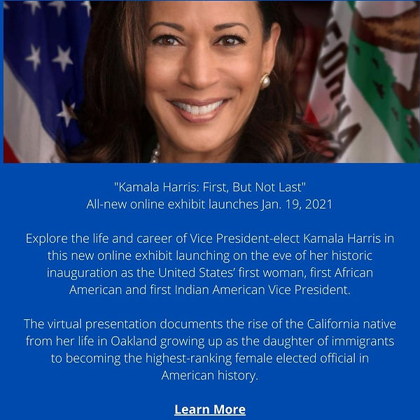%22Kamala Harris_ First, But Not Last%22