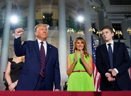 """NEWS""President Trump Son has COVID-19  Article Of Mrs Trump"