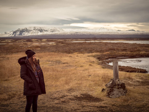 Roz in Iceland