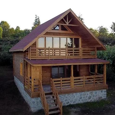 Mustafalı Kütük Ev