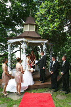 Noosa rotunda wedding ceremony