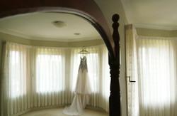 Noosa wedding dress detail