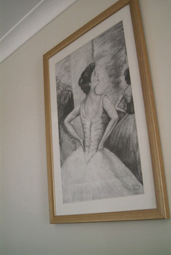 Noosa wedding bride art