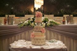 Noosa wedding four tier cake