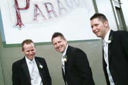 Noosa wedding groom and groomsmen