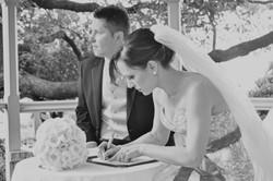 Noosa wedding registry signing