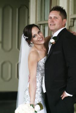 Noosa wedding couple cuddle