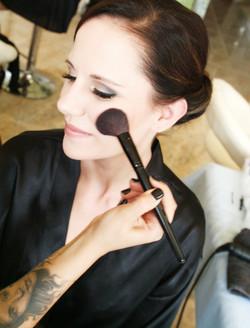 Noosa wedding bride makeup