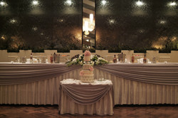 Noosa wedding cake and table detail
