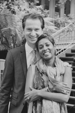 Noosa wedding guests smiling