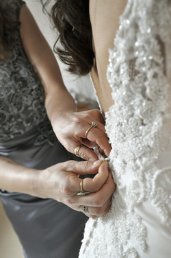 Noosa wedding dressing buttoned