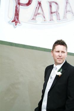 Noosa wedding groom portrait