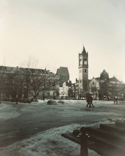 Across Copley To Old South Church