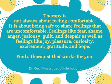Discomfort in Therapy