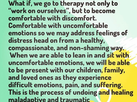 Therapy, Emotions, & Generational Patterns