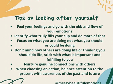 Mental health care tips