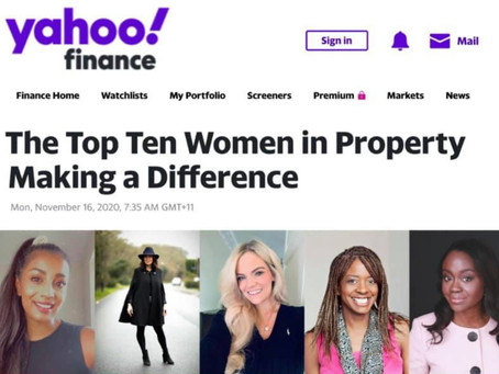 The Top 10 Women in Property Making a Difference.