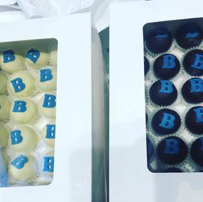 Booking.com cake-bons