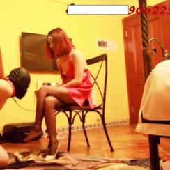 Sexy unattainable Chinese goddess plays with dog slave 性感Emma女王把贱男m绑起来让他好好崇拜女王,最后还虐了肛
