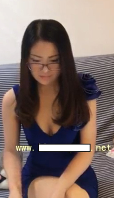 Sexy Chinese domme humiliates devoted cross-dressed sub