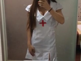 Queen S in sexy nurse outfit