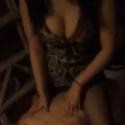 Two sexy Chinese dommes humiliate fat pig slave 性感双女王一起侮辱肥猪男奴