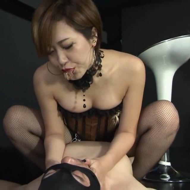 Incredibly sexy Japanese Goddess teasing & taunting helpless subs