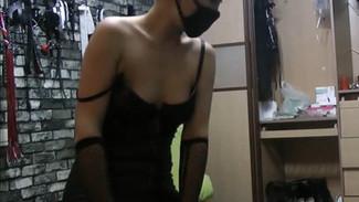 Chinese Goddess with incredible body teases & torments worthless sub 高清版魔鬼身材的女S虐贱货-虐肛骑马羞辱狗奴打飞机