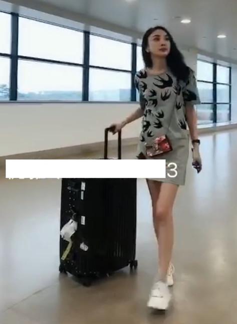 Goddess Youya at the airport