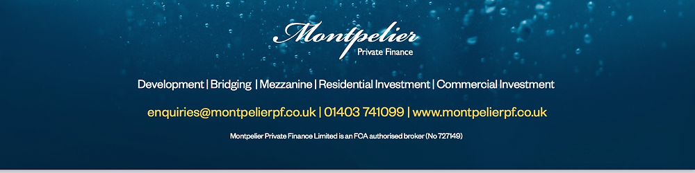 Montpelier Private Finance; development finance, bridging loans, mezzanine finance, residential investment finance, commercial investment finance.