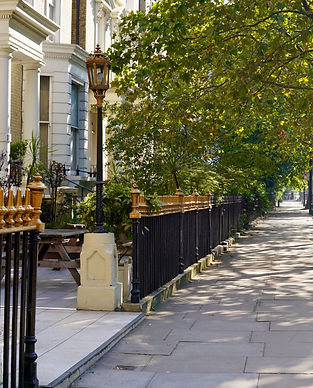 South East London street with HMO properties