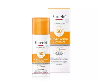Sun Photoaging Control Face Creme getönt LSF50+ Medium 50ml
