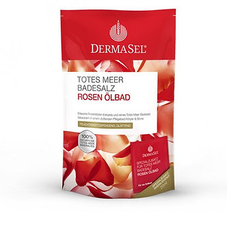 Badesalz Rosenöl +20ml 400 g