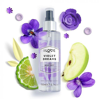 Violet dreams body mist 150ml
