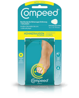 COMPEED® Hühneraugenpflaster Aktive Small 6 Stk