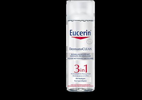DermatoCLEAN 3in1 Reinigungsfluid Mizellen 200 ml