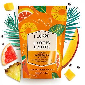 Exotic Fruits Badesalz 500g
