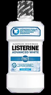 LISTERINE® Advanced White 500ml