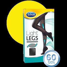 Light LEGS™-Strumpfhose 60DEN S Schwarz