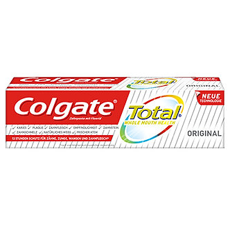 Colgate Total Original Zahnpasta DUO 2x100ml