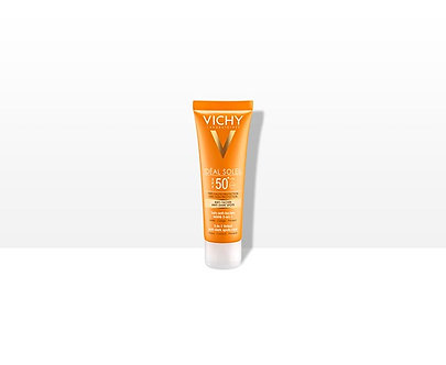 Idéal Soleil Anti-Pigmentflecken Creme 3in1getönt SPF50+ 50ml