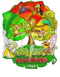 Logo Rainforest Adventure Park