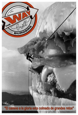 cartel monte rousmore con burger