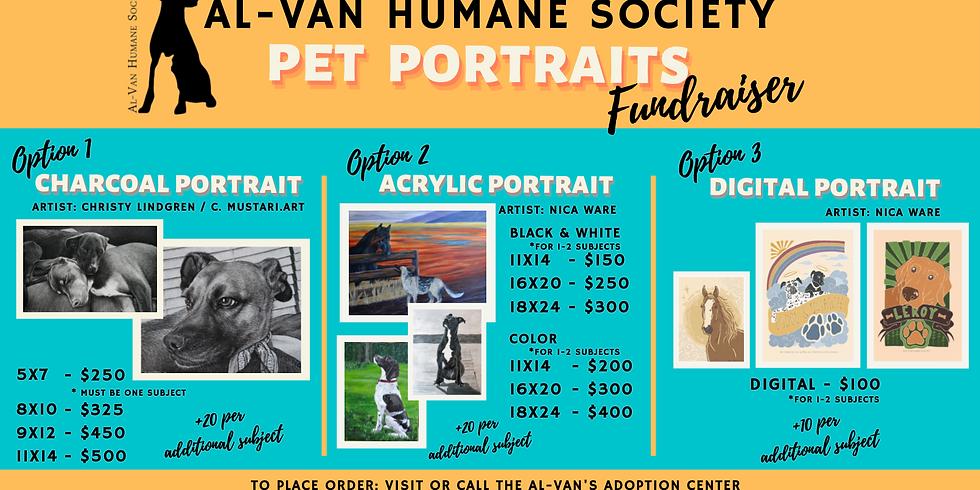 Pet Portrait Fundraiser